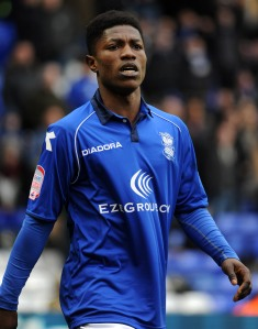 Koby Arthur is the latest of a number of academy graduates to make his first-team debut. (© Birmingham City FC)