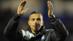 Birmingham City manager Chris Houghton g