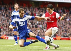 Soccer - Barclays Premier League - Arsenal v Birmingham City - Emirates Stadium