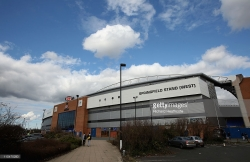 General Views of The DW Stadium, Home of Wigan Athletic football club and the Wigan Warriors rugby league team on March 19, 2011 in Wigan, England.